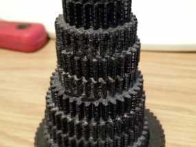 交换齿轮 3D模型