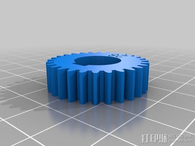 交换齿轮 3D模型  图4