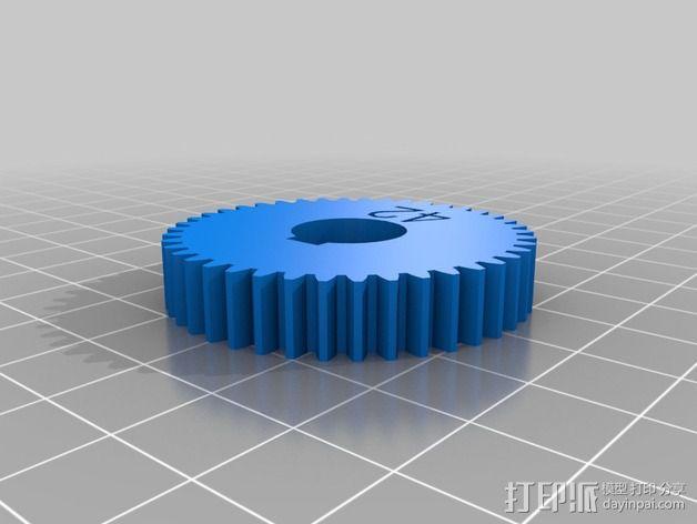 交换齿轮 3D模型  图6