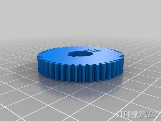 交换齿轮 3D模型  图7