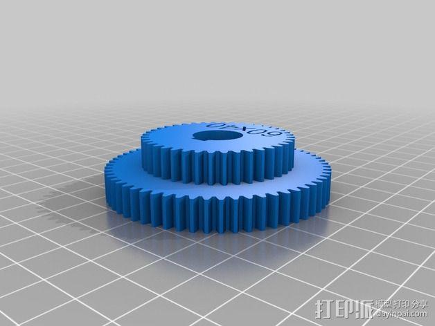 交换齿轮 3D模型  图9