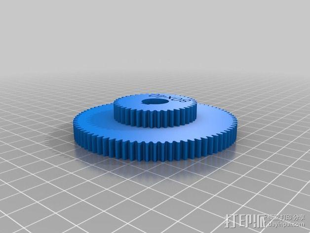 交换齿轮 3D模型  图10