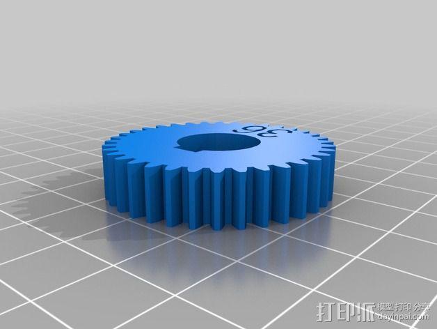 交换齿轮 3D模型  图11