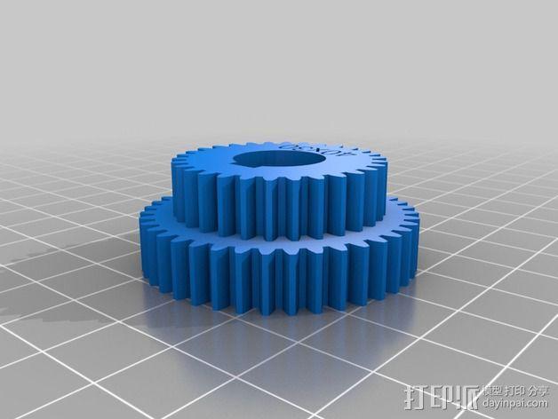 交换齿轮 3D模型  图12