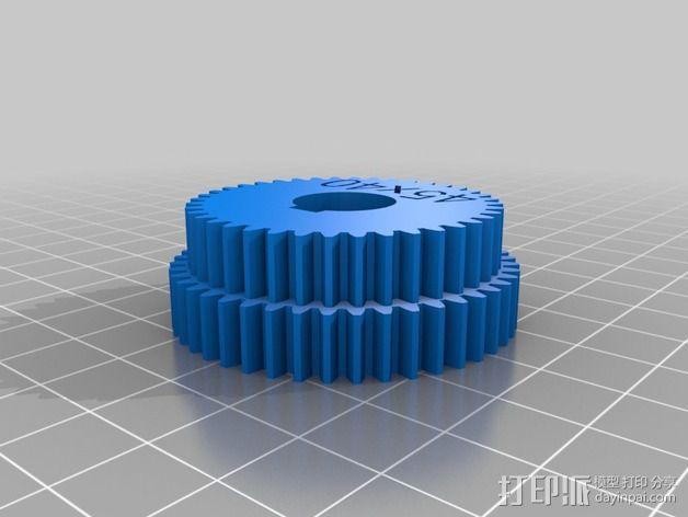 交换齿轮 3D模型  图13