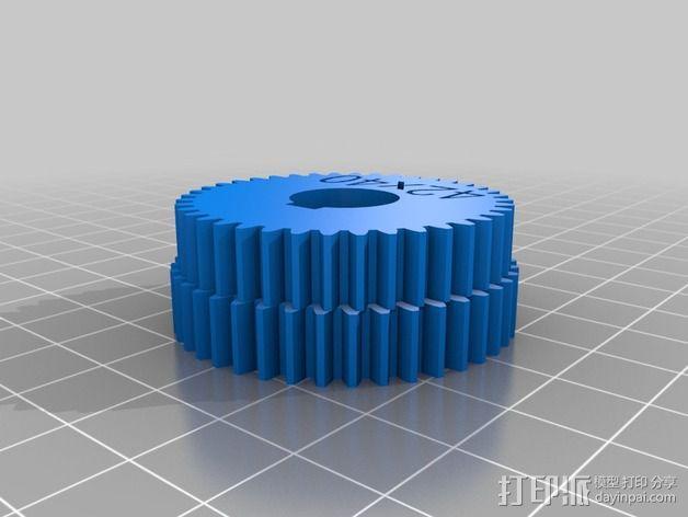 交换齿轮 3D模型  图14