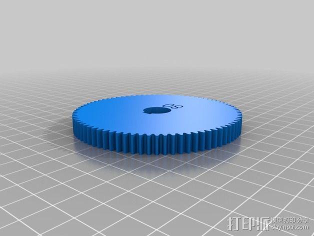交换齿轮 3D模型  图15