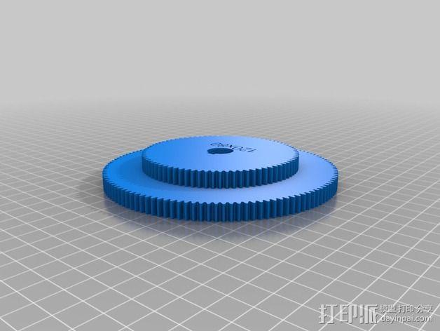 交换齿轮 3D模型  图16