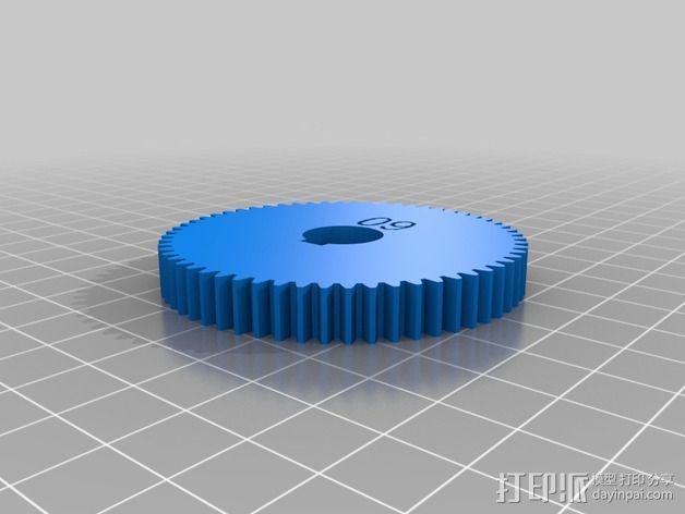 交换齿轮 3D模型  图19