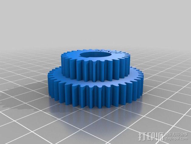 交换齿轮 3D模型  图17