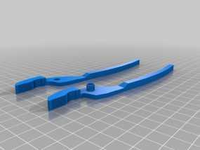 老虎钳 3D模型