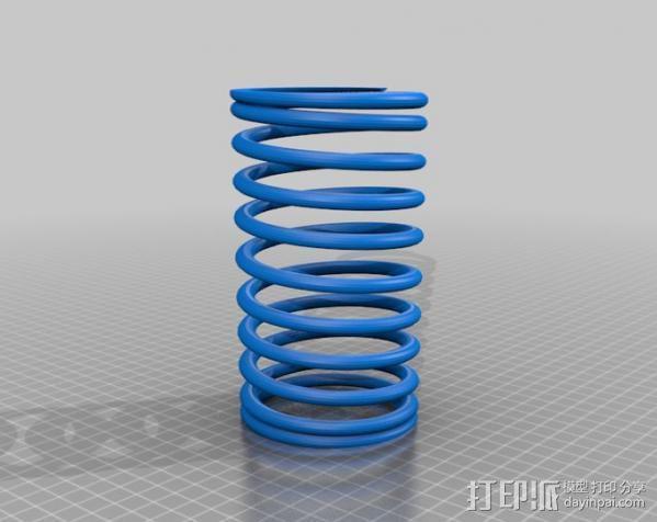 螺旋弹簧 3D模型  图2