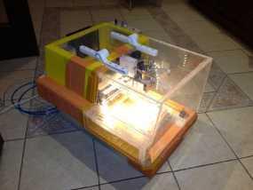CNC 3020雕刻机 外壳 3D模型