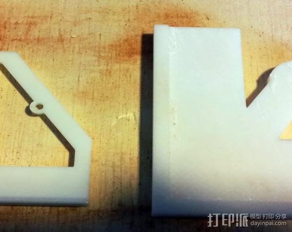 定制化钻孔样板 3D模型  图1