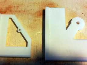 定制化钻孔样板 3D模型