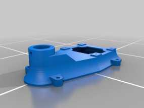 钻床底座 3D模型