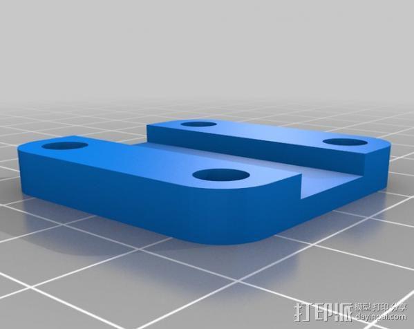 玻璃瓶切削夹具  3D模型  图5
