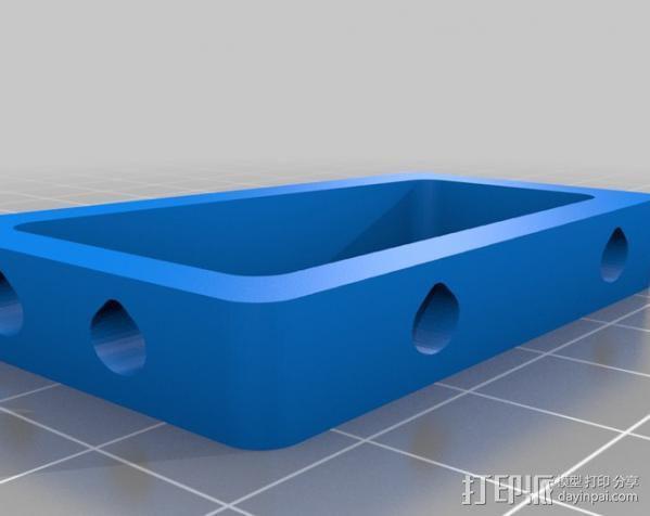 玻璃瓶切削夹具  3D模型  图4