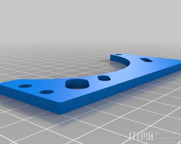 玻璃瓶切削夹具  3D模型  图7