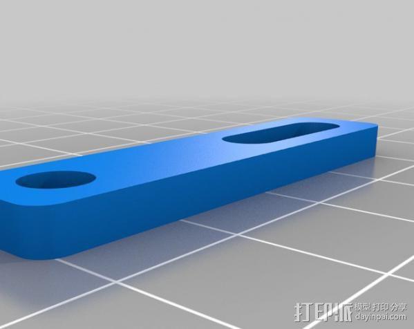 玻璃瓶切削夹具  3D模型  图9