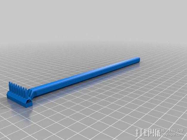痒痒挠/搔背器 3D模型  图1