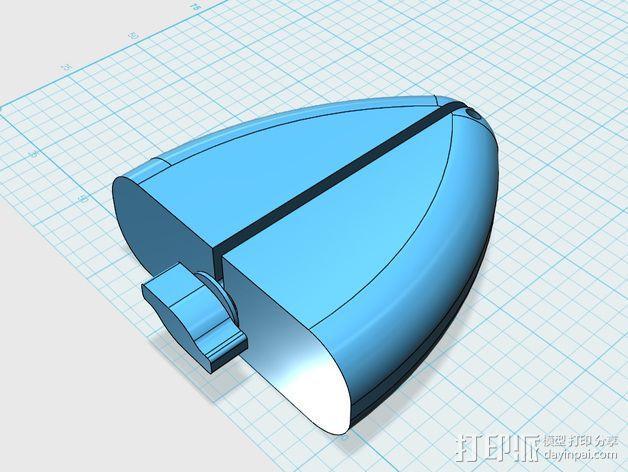 鞋撑 3D模型  图1