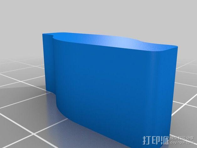 鞋撑 3D模型  图3