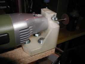 钻孔机钻头固定架 3D模型