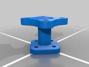 法兰适配器 3D模型