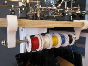 线轴固定夹 3D模型