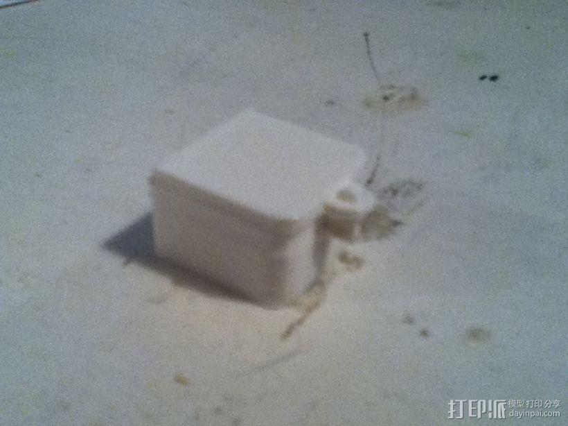 铰链 小盒 3D模型  图1
