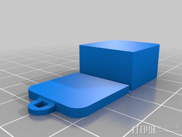 铰链 小盒 3D模型  图4