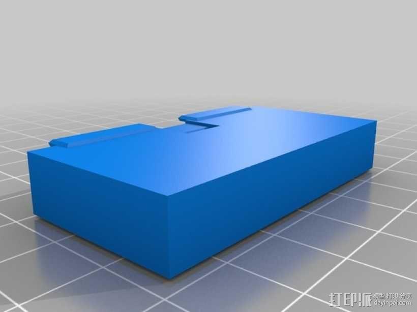 电池盒  3D模型  图3