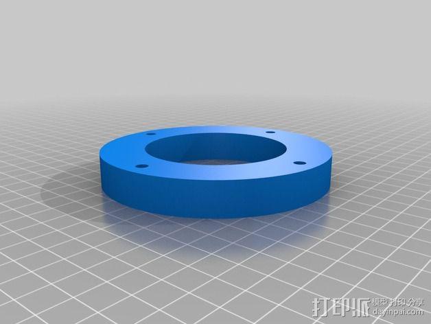 离心管固定架 3D模型  图5