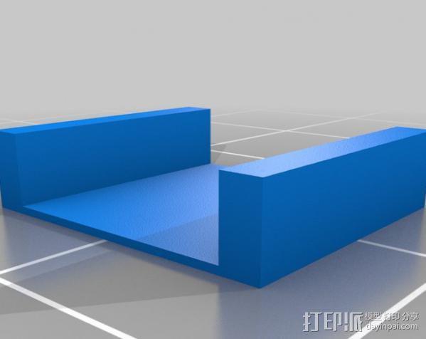 低功率电子开关 3D模型  图3