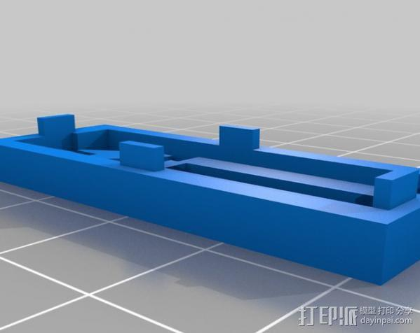 低功率电子开关 3D模型  图4