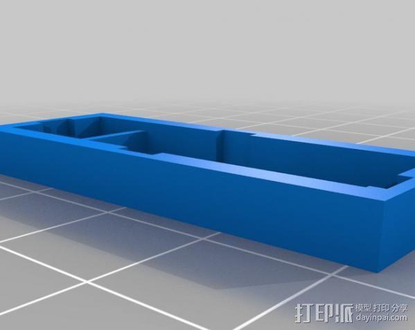 低功率电子开关 3D模型  图5