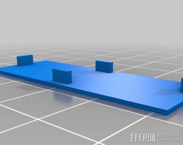 低功率电子开关 3D模型  图8