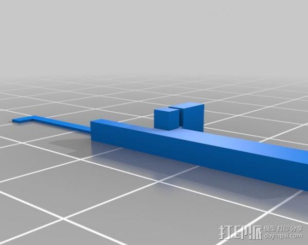 低功率电子开关 3D模型  图9