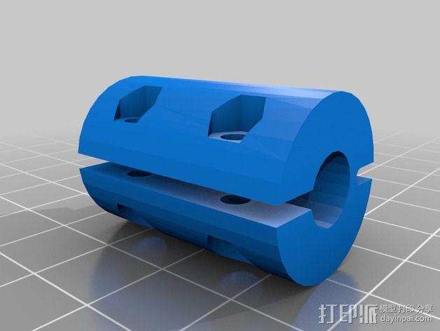 耦合器 3D模型  图1