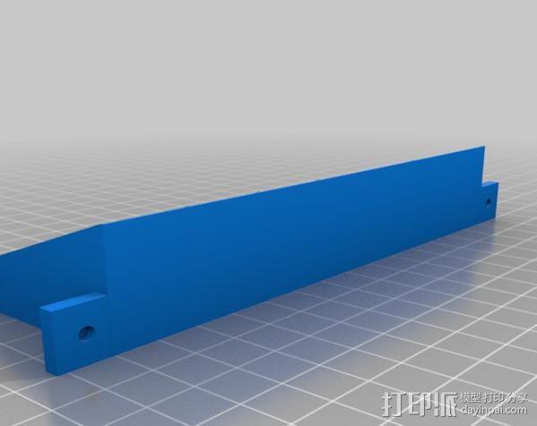 胶水置放架 3D模型  图3