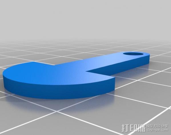 澳大利亚购物车标签 3D模型  图2