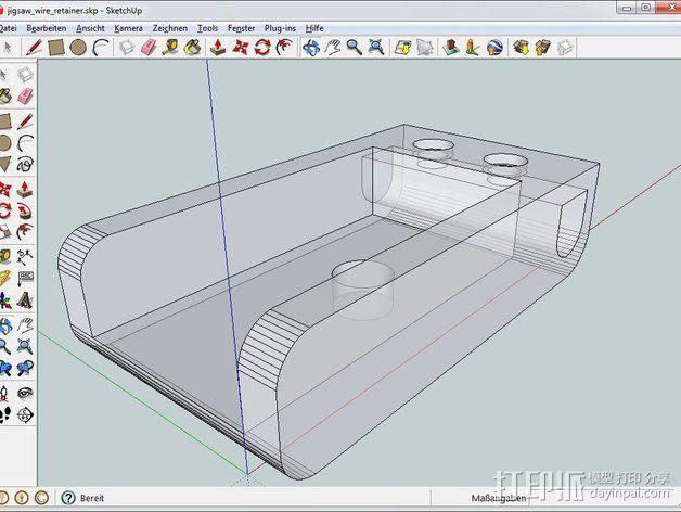 发泡板 电动锯子  3D模型  图2