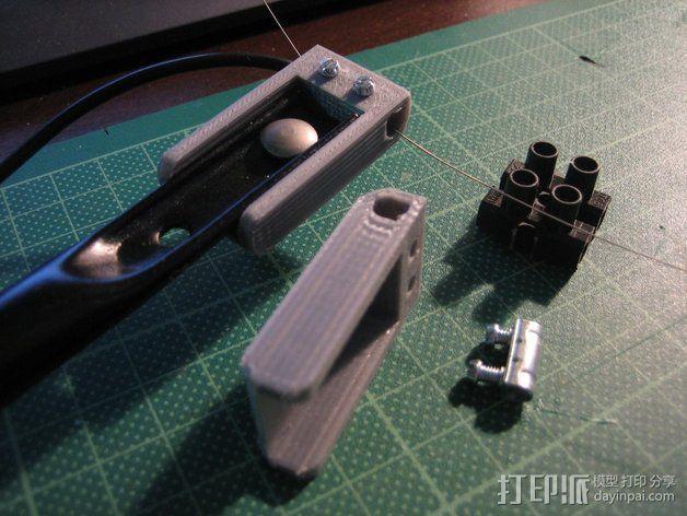 发泡板 电动锯子  3D模型  图5