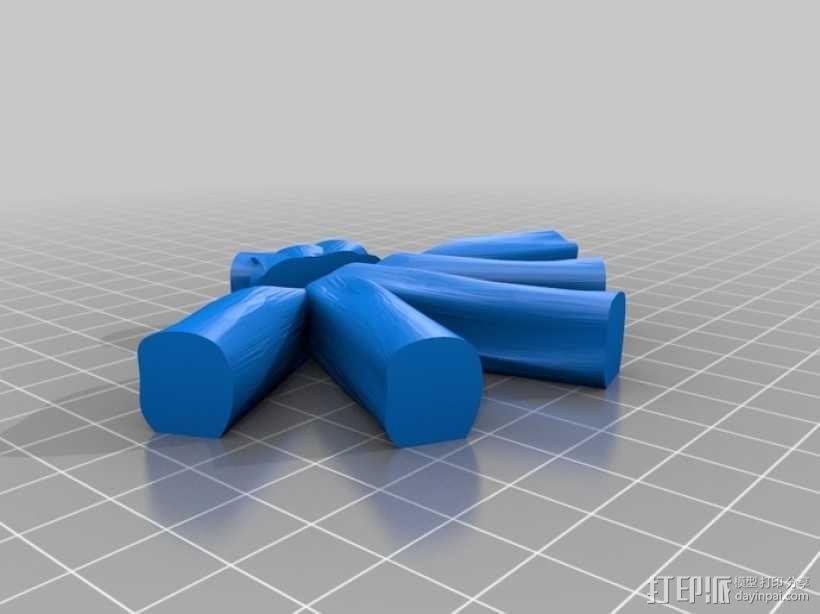 篝火 3D模型  图2