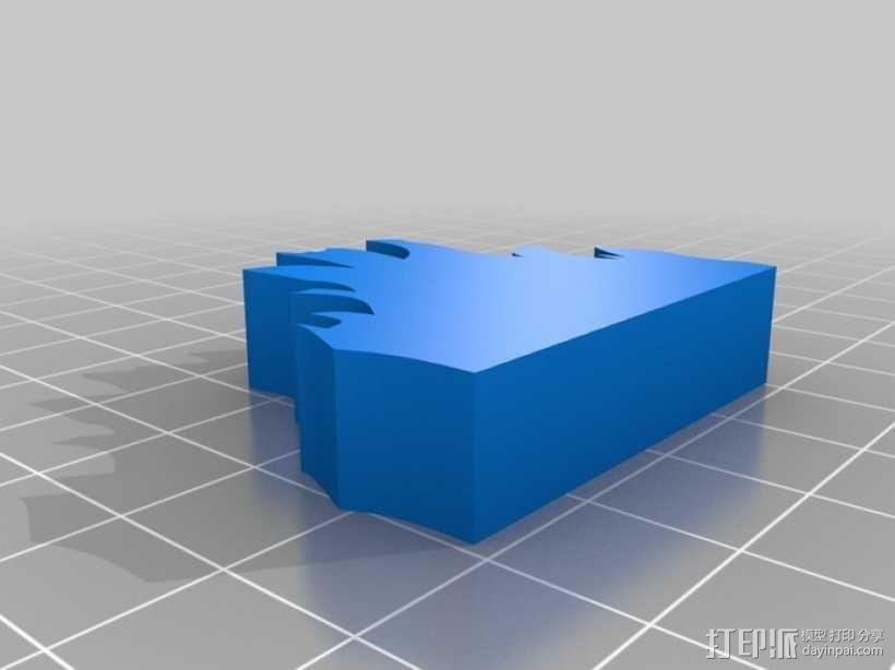 篝火 3D模型  图3