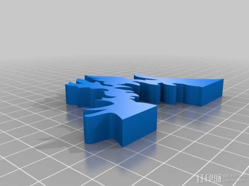 篝火 3D模型  图4