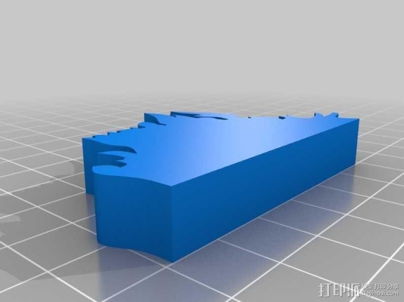篝火 3D模型  图5
