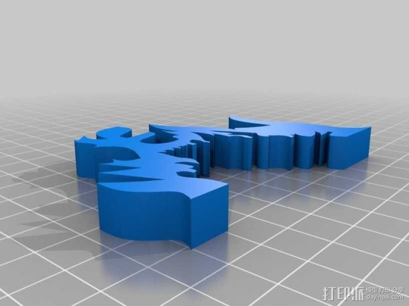 篝火 3D模型  图6