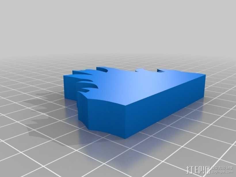 篝火 3D模型  图7